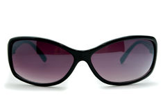 Sunglasses. Purple sunglasses over white background Stock Images