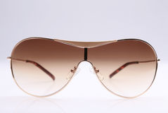 Sunglasses. Straight frontal view of a pair of sunglasses Stock Photos