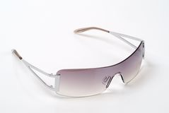 Sunglasses. Fashionable sunglasses on the white background Royalty Free Stock Image