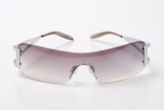 Sunglasses. Fashionable sunglasses on the white background Stock Image
