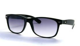 Sunglasses. Black stylish sunglasses isolated on white background Royalty Free Stock Photography