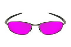 Sunglasses. Isolated on the white background Royalty Free Stock Images
