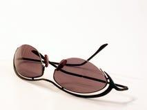 Sunglasses. Matrix style sunglasses royalty free stock images