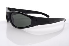 Sunglasses. Of the withe background Royalty Free Stock Image