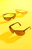 Sunglasses. For protect uv in sunlight Royalty Free Stock Photos