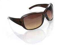 Sunglasses. Elegant glasses from the sun Royalty Free Stock Images