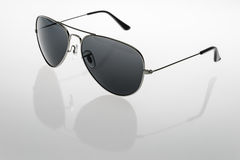 Sunglasses. The classic shape of the sunglasses Royalty Free Stock Image