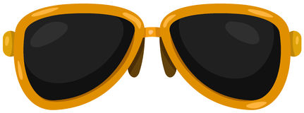 sunglasses Foto de Stock Royalty Free