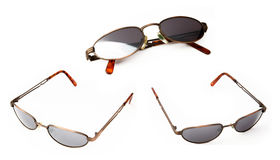 Sunglasses. Isolated on the white background royalty free stock photos