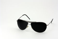 Sunglasses. Put on white background Royalty Free Stock Photo