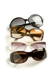 Sunglasses. Four stylish sunglasses isolated on white Stock Photography