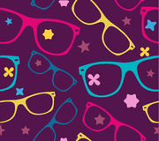 Sunglasses and abstract elements  background Royalty Free Stock Images