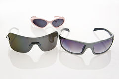 Sunglasses for all family Royalty Free Stock Image