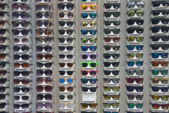Sunglasses array Royalty Free Stock Images