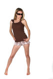 Sunglasses Attitude Teen Royalty Free Stock Image
