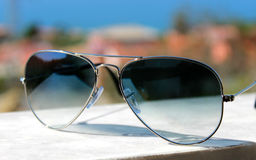 Sunglasses aviator Stock Image
