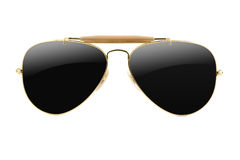 Sunglasses aviator style isolated royalty free stock image