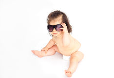 Sunglasses baby Stock Images