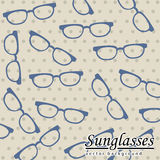 Sunglasses background Royalty Free Stock Image