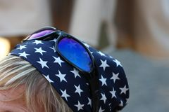 Sunglasses and bandana Stock Photos