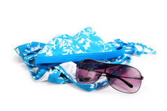 Sunglasses and bikini Royalty Free Stock Images