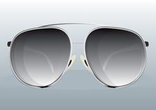 Sunglasses Black. Black Sunglasses Cool Vector Drawing Stock Images