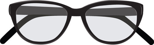 Sunglasses blacks view Royalty Free Stock Photos