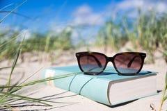 Sunglasses_book Foto de Stock