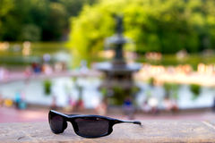 Sunglasses in Central Park, New York Stock Photography