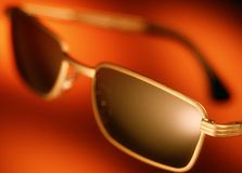 Sunglasses close up selective focus Royalty Free Stock Photos