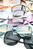 Sunglasses collection Stock Photography