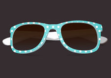 Sunglasses in the color rim Stock Photography