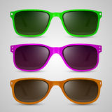 Sunglasses color. Vector Stock Photography