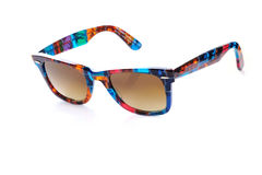 Sunglasses. Colorful and bright  sunglasses, accessory for men or women Stock Photography
