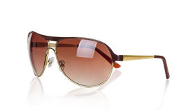 sunglasses D'isolement sur le fond blanc photo stock