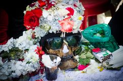 Sunglasses for death royalty free stock image