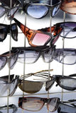 Sunglasses on display Stock Photo