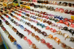 Sunglasses display Stock Image