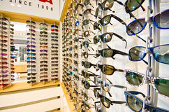 Sunglasses on display Stock Images