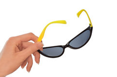 Sunglasses for eyes protection Royalty Free Stock Photo