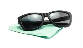 Sunglasses with fabric Royalty Free Stock Photography