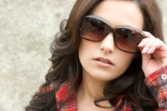 Sunglasses Fashion Woman Royalty Free Stock Photos