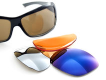 Sunglasses filters Royalty Free Stock Photography