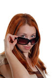 Sunglasses girl Stock Photography
