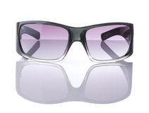 Sunglasses With Horizon Line And Reflection Stock Image