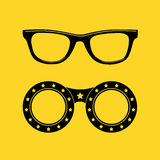 Sunglasses icon Stock Images
