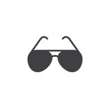 Sunglasses icon vector, sun glasses filled flat sign, solid pict Royalty Free Stock Photo