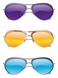 Sunglasses Icons Stock Images
