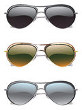 Sunglasses Icons Royalty Free Stock Photography