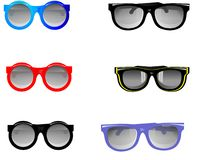 Sunglasses illustration Stock Photos